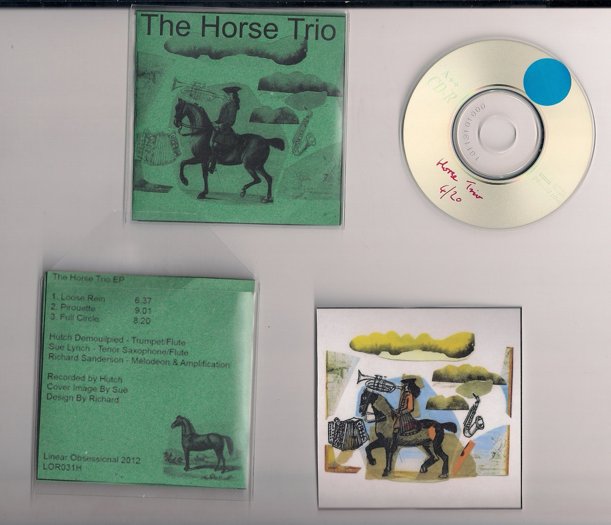 The Horse Trio | Linear Obsessional