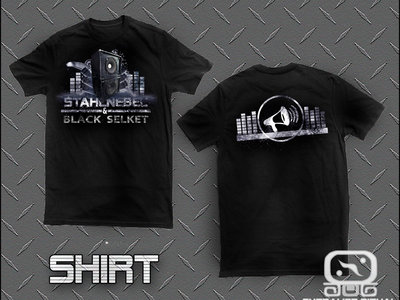 Stahlnebel & Black Selket-Noise t-shirt USA version main photo