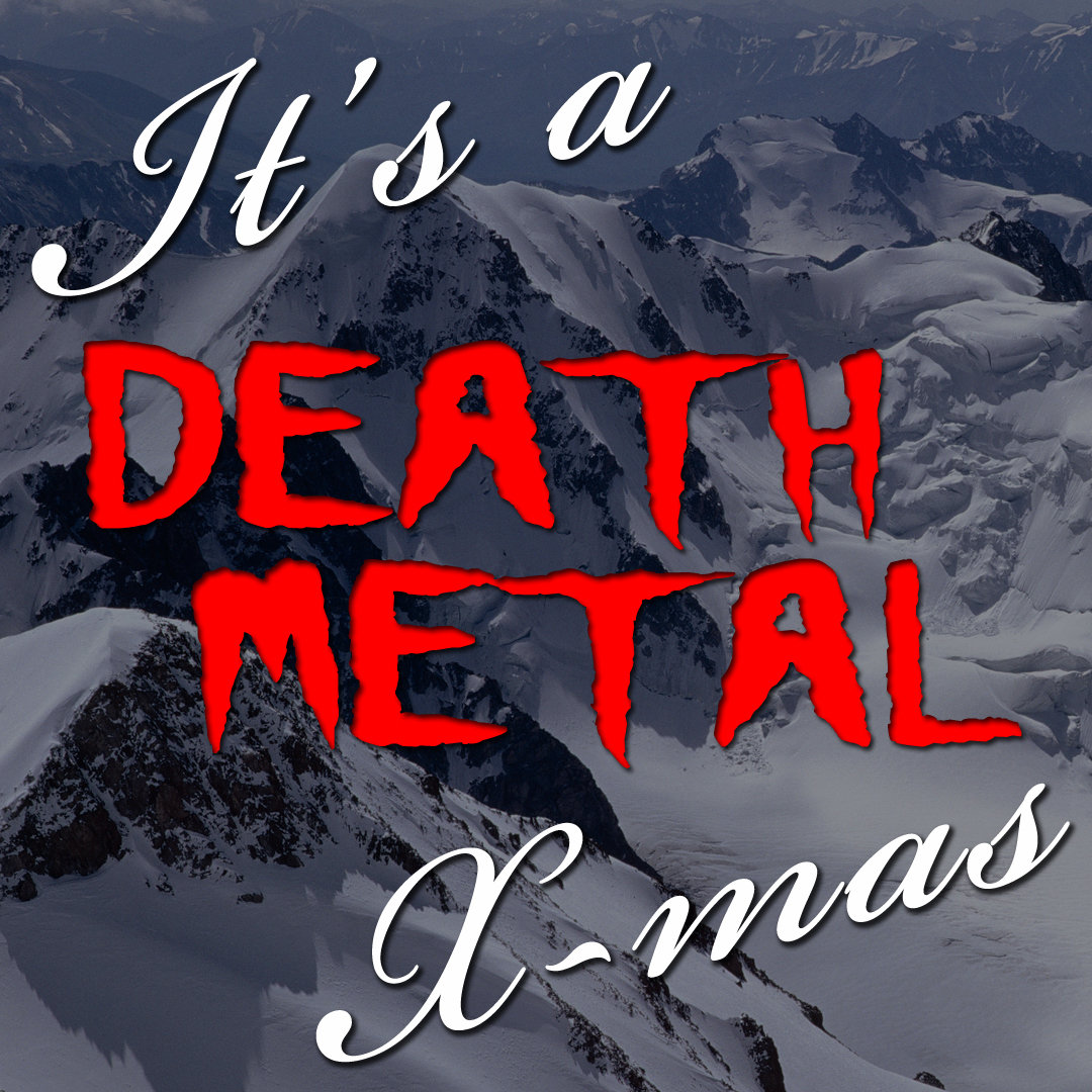 its a death metal xmas image - Heavy Metal Christmas Music