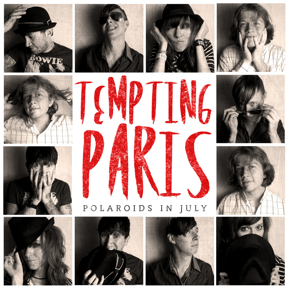 Zseniális sideproject - Tempting Paris - Polaroids in July (2012)