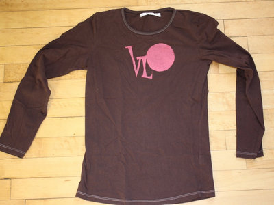 Sm/XS Brown Long Sleeved Shirt - Valerie's Favorite :) main photo