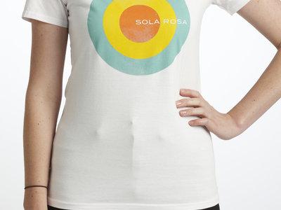 Woman's Circle Design T-Shirt (black or white) + album download main photo
