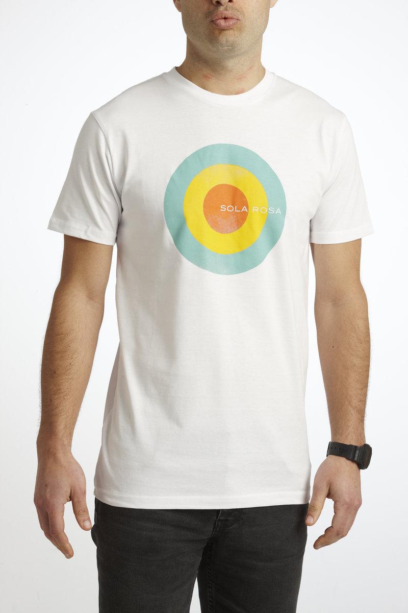 Men's Circle Design T-Shirt (black or white)   album download ...