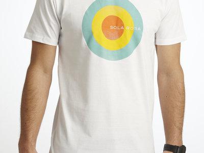 Men's Circle Design T-Shirt (black or white) + album download main photo