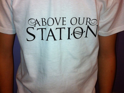 Above Our Station Logo T-Shirt main photo