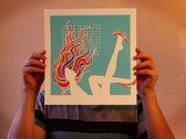"Weak Knees - 12x12"" Silkscreen Print photo"