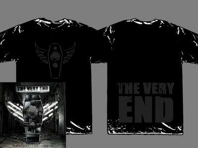 Bundle: Black on Black T-Shirt / Turn Off The World CD main photo