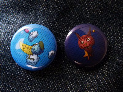 2 buttons: Stars & Moon main photo