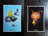6 Postcards photo