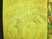 2nd Edition Limited Meowgazine Coloring Book with Free Full Color Poster photo