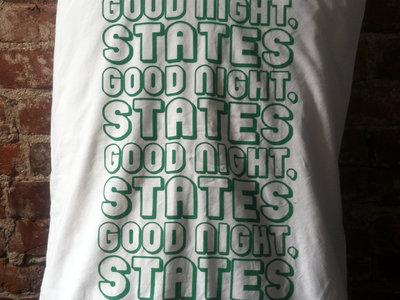 Green Repeats Logo Print Pillowcase main photo