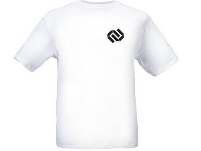NVR Chest Icon T-Shirt White [FREE 35 Track DnB Compilation!] main photo