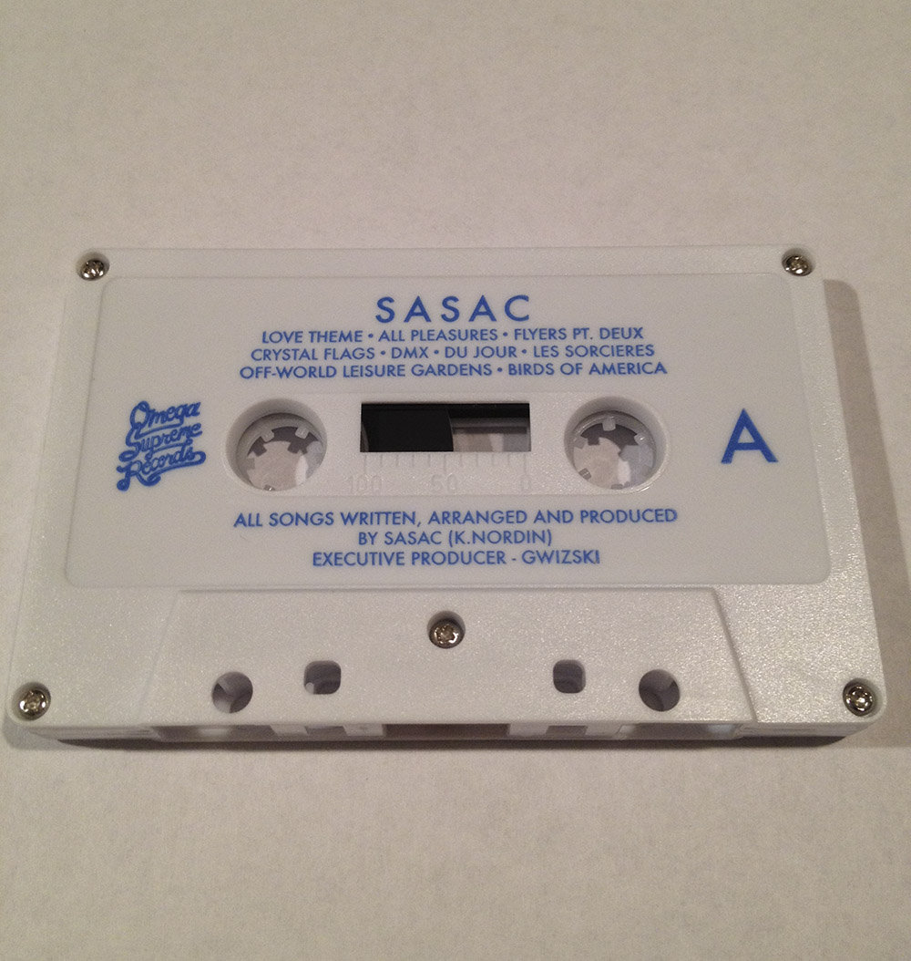 SASAC - S/T (Limited Edition Cassette) | Omega Supreme Records