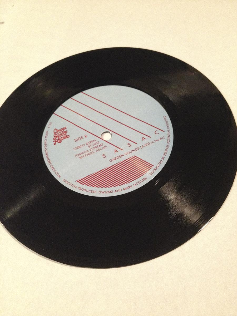 Sasac 7 Quot Vinyl Single Quot All Pleasures Quot B W Quot Garden Sounds
