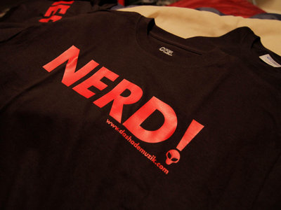"The ""NERD!"" Shirt main photo"