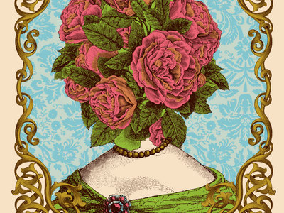 Winterpills 'Flowerhead' poster by Nate Duval main photo