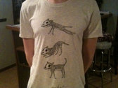 skeleton fox t-shirt $12 ($15 w/ shipping) photo