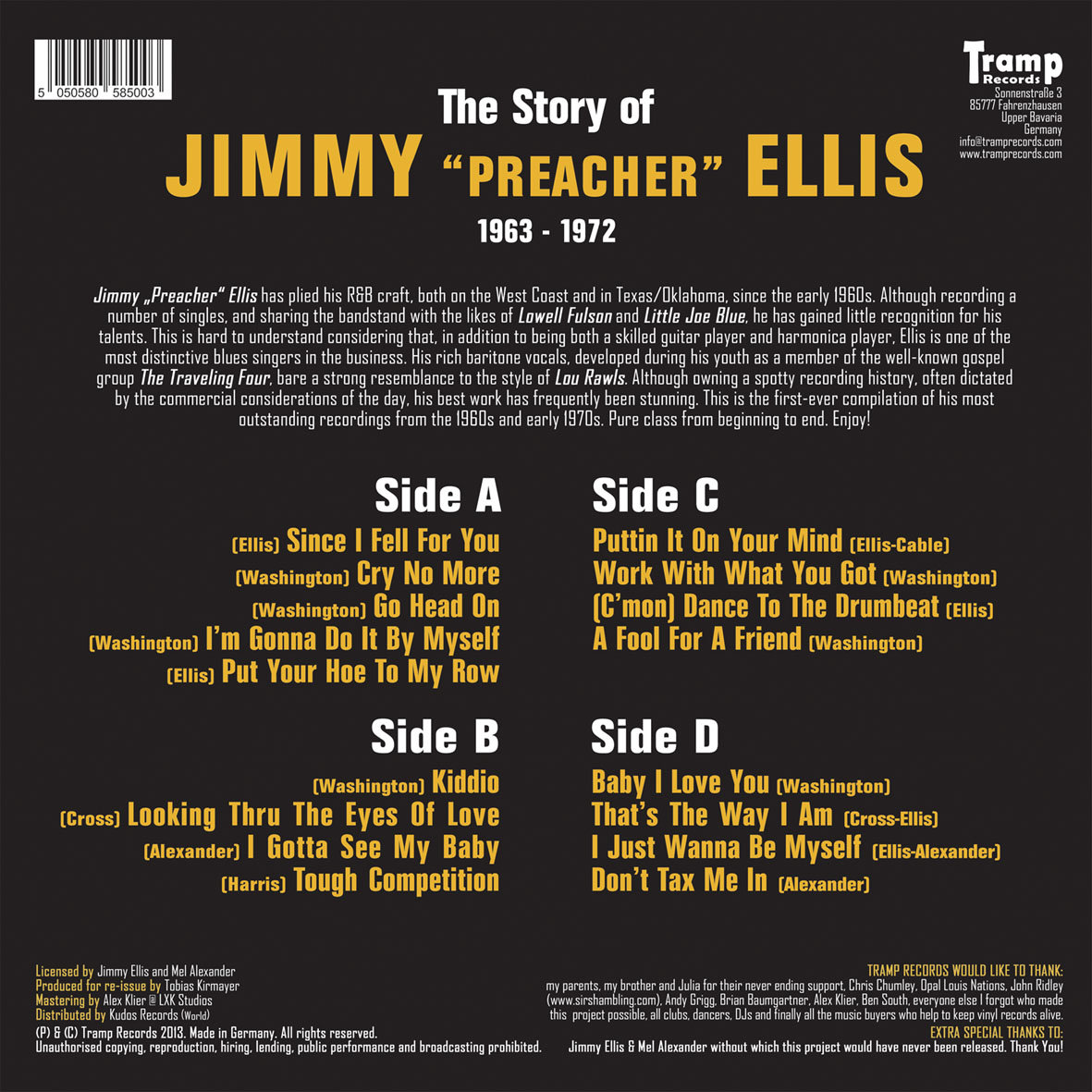 Includes unlimited streaming of The story of Jimmy Preacher Ellis via the  free Bandcamp app, plus high-quality download in MP3, ...