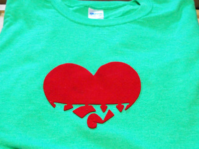 KGW Heartfelt T-Shirt, Large, Green (with 4 rare songs) main photo