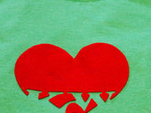 KGW Heartfelt T-Shirt, Large, Green (with 4 rare songs) photo