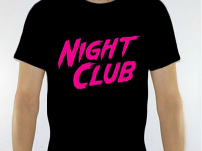 Night Club logo shirt main photo
