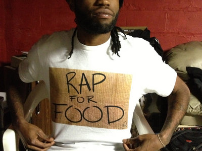 Rap For Food T-Shirt main photo