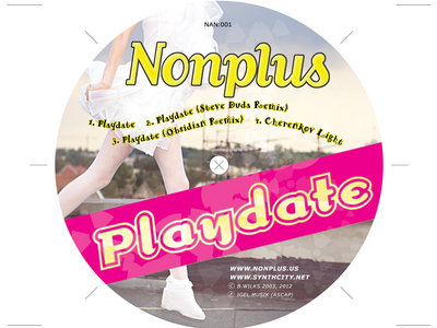 Playdate EP - Limited Edition Compact Disc main photo