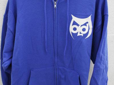 Oldominion Classic logo hoodie - bright blue main photo