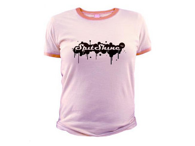 Pink SpitShine Jnr Ringer T-Shirt for Ladies main photo