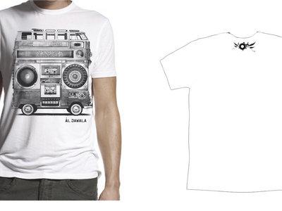 "T-Shirt ""Buzz"" Men, white main photo"