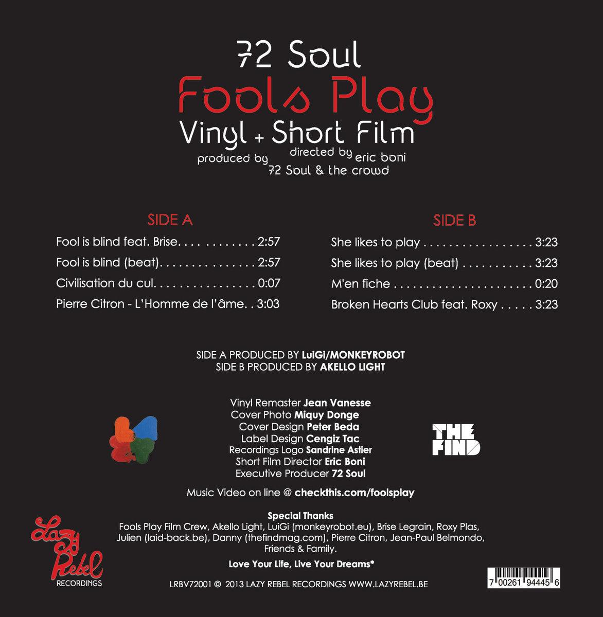 B2 72 Soul She Likes To Play Instrumental 72 Soul