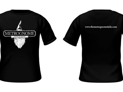 Metrognome Logo T-Shirt -- with FREE download + stickers main photo