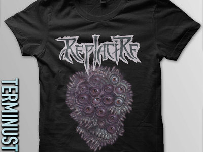 Eyeball Teeth Skull Shirt main photo
