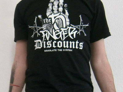 The 5 Finger Discounts - immolate the system main photo