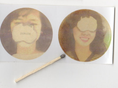 ZOOM LENS Burnt Face Stickers (2-Pack) main photo