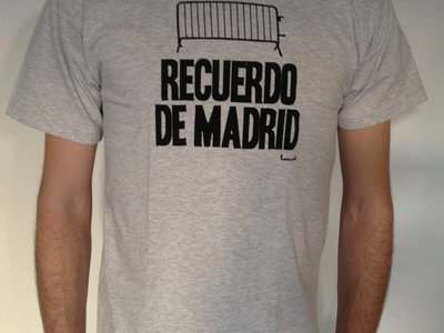 Recuerdo de Madrid Tee (grey) main photo