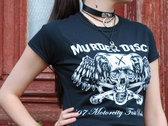 T-Shirt: Skull - Motorcity fast Punk photo