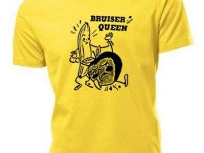 """Yellow """"Fighting"""" Banana & Apple Shirt main photo"""