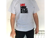 Lovemonk Discos Buenos Tee (Heather Grey) photo