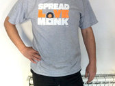Spread Lovemonk Tee (Heather Grey) photo