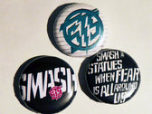 """Button pack - 3x1"""" photo"""