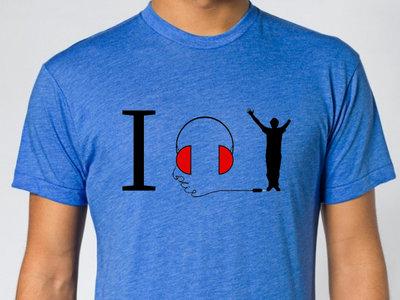 """""""I listen to Tony Memmel T- Shirt"""" main photo"""