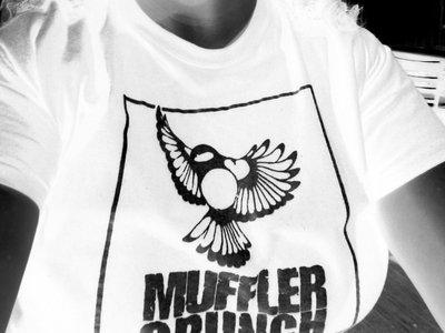 Chickadee T-shirt (black ink/white t-shirt) main photo
