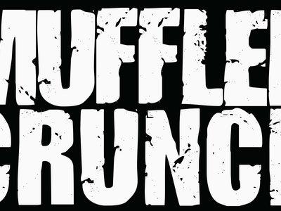 """MUFFLER CRUNCH """"Official Logo"""" sticker main photo"""