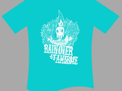 Rain Over St. Ambrose T-Shirt (Turquoise) main photo