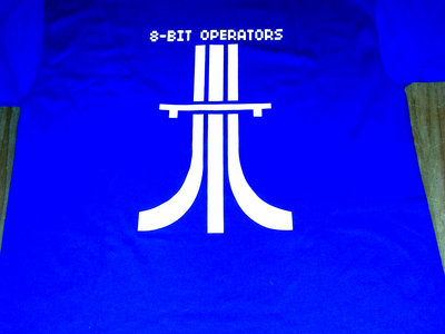 8-BIT OPS' KRAFTWERK Tribute Atari-Bahn TEE - FREE Shipping main photo