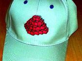 8-Bit Operators - DEVO Tribute Embroidered Pixel-Dome Jet-Cap - FREE Shipping photo