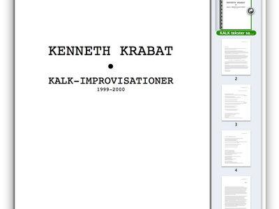 KALK, improvisationer, transskriptioner main photo