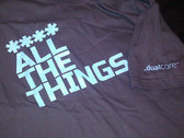 **** ALL THE THINGS (Mens Blue) photo