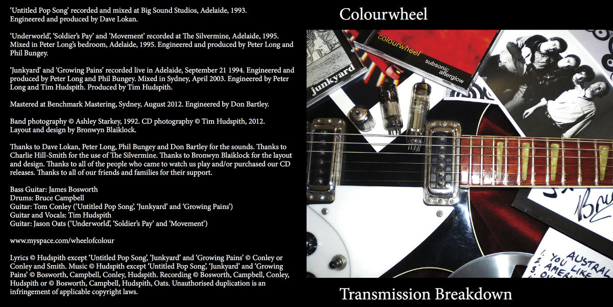 Lyric jingle jangle jingle lyrics : Transmission Breakdown | Colourwheel